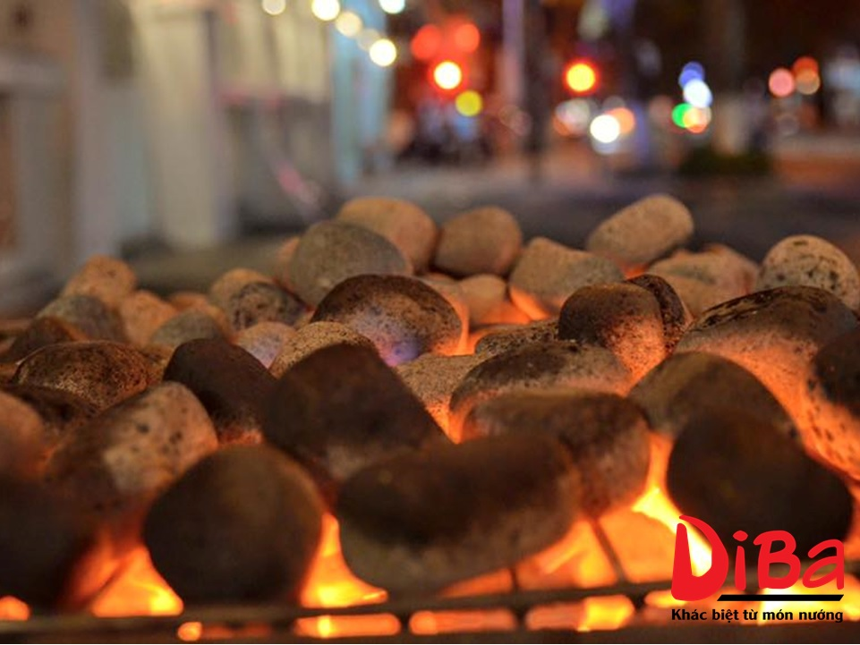 Làm nóng đá cuội trong khoảng 10 đến 15 phút